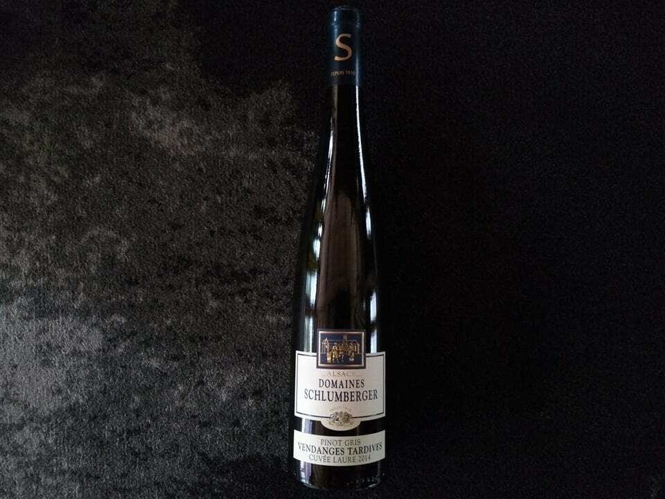"""Pinot Gris Vendanges Tardives """"Cuvée Laure"""" Dom. Schlumberger 2014"""